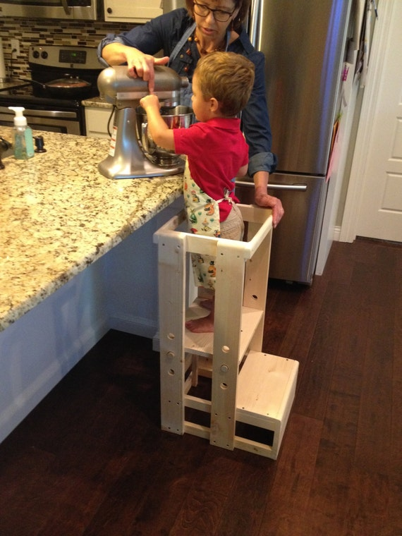Child Kitchen Helper Step Stool