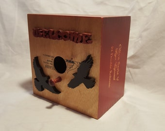 Welcome Cigar Bird Box