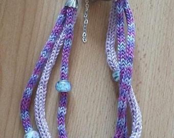 Tubular necklace