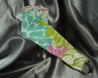 Floral Fabric Belt