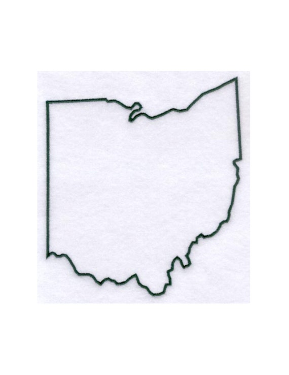 Ohio Stencil Made From 4 Ply Mat Board By Woodburnsnewengland