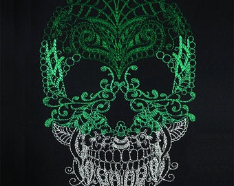 Skull zendoodle