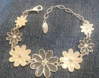 Vintage Pilgrim Floral Bracelet