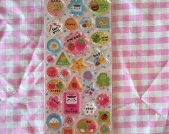 Kawaii Sticker Sheet
