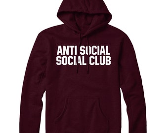 Anti Social Social Club Hoodie Hoody Mens Womens STP108