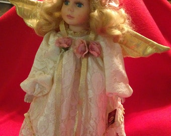 """Collectors Limited Edition Porcelain 17"""" Doll by Joiner"""