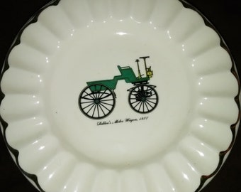 Vintage Automotive Ashtray's Set of 6