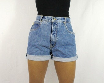 Amelia High Waist Shorts