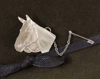 horse brooch/hat pin/horse jewelry