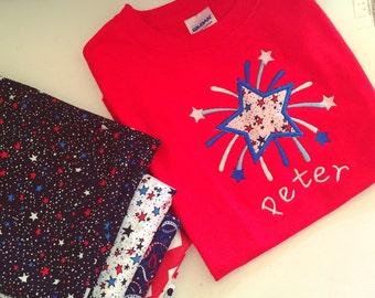Patriotic, July 4th Tshirt or Onesie