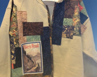 Pike's Peak or Bust woman's jacket