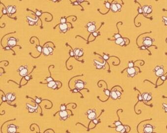 Boys Will Be Boys By David Walker for Free Spirit Fabrics DW47 Monkey Toss