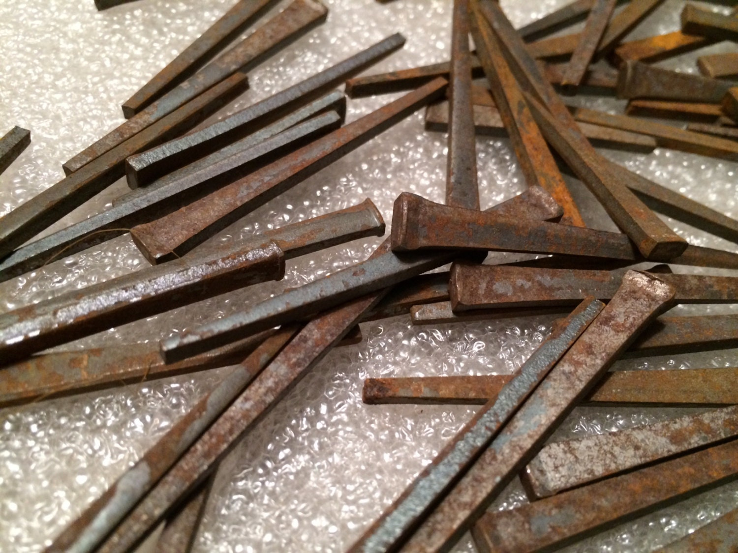 Vintage Square Cut Nails Nail 1 5 Lb Pound Rustic