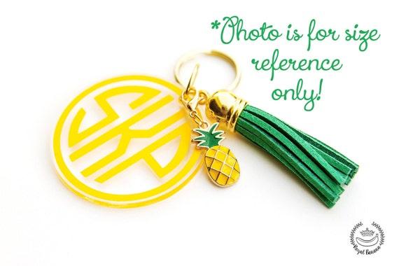 Basket Weaving Supplies Charleston Sc : Pineapple charm mm add on keychain or jewelry tassel