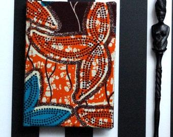 African Ankara Print Notebook