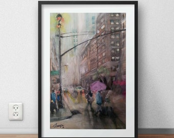 Original Painting CityScape