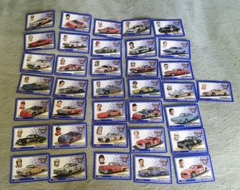 36 Good Year 50th Anniversary Nascar Cards