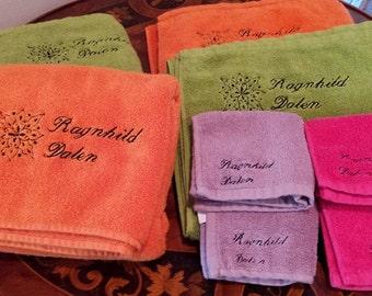 College / Dorm Towels (Set of 2 Bath Towels)