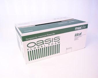 Oasis Bricks Floral Foam Maxlife Box of 20 Smithers Oasis Blocks for Fresh Flower Floristry