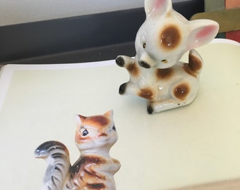 Porcelain Deer Japan Collectable