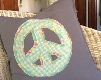 Peace Pillow 20x20 slipcover