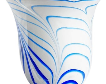 Vintage Hand Blown Glass vase