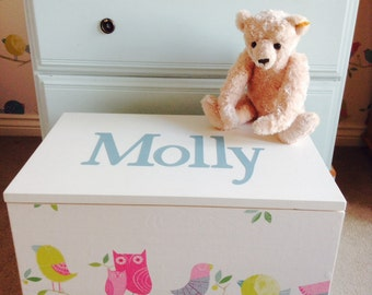 Large Personalised Toy Box