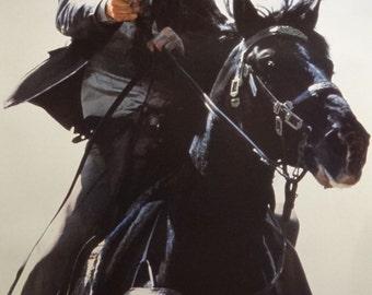 Indiana Jones 21x32 Horseback Movie Poster 1989 The Last Crusade