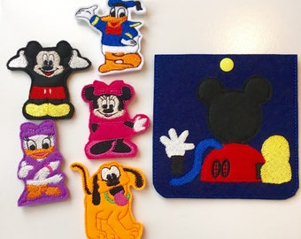 Clubhouse Characters Finger Puppets Set of 6