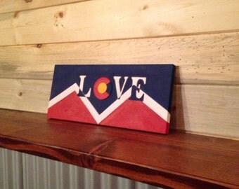 Denver Colorado LOVE sign