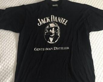 Vintage Jack Daniels TShirt from the Lynchburg, TN Distillery - Size Medium