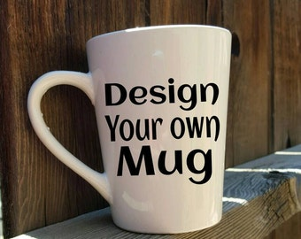 Custom mug, Design your own mug, glitter mug, best friend gift, funny mugs, coffee mug, coffee cup, gift idea, birthday gift,birthday mug