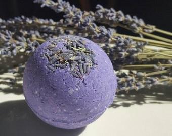 Luscious Lavender Bath Bombs