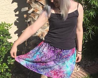 Celestial Patterened Skirt