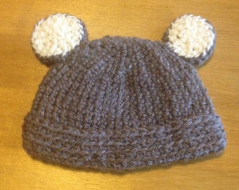 New baby crocheted hat