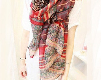 Ethnic scarf for woman