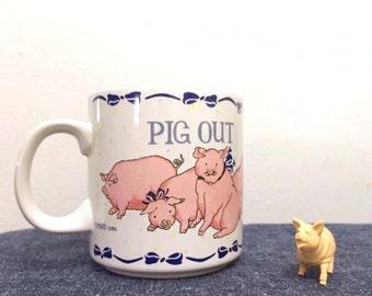 Pig Out Mug