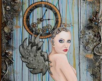 Clockwork Girl: Fine Art Print