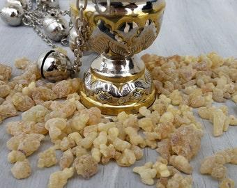 Frankincense Resin Incense,Frankincense Tears,Boswellia Sacra,Natural Ritual Incense,Myrrh Resin,Yule Scents,Organic Frankincense Resin