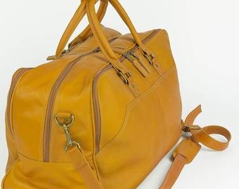 Camden LeatherWorks Weekend Travel Bag V151