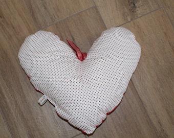 Pillow in heart shape