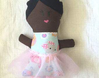 Customizable Handmade Cloth Dolls - Petunia