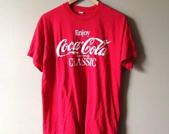 Vintage coca cola shirt.
