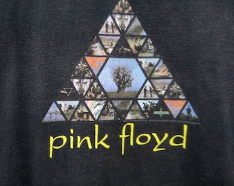 Pink Floyd Collage Triangle Tee
