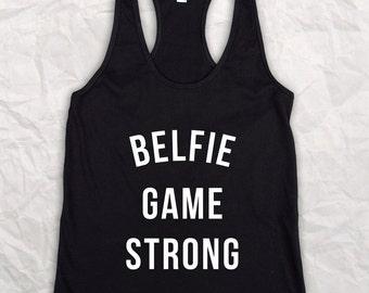 belfie game strong Womens Vest