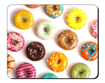Mouse Mat - Doughnuts - Food and Drink Mouse Pad FD108