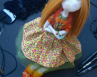 Fabric genger doll. Special  price.