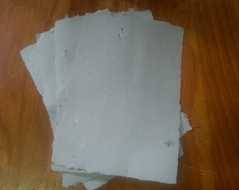 Hand made paper. Recycled paper. Suitable for writing, scrapbooking, your imagination is the limit