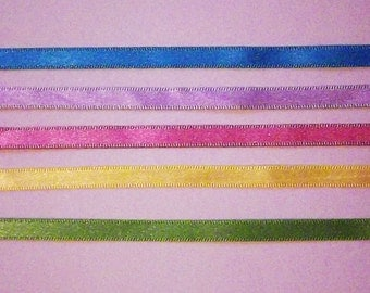 8mm Ribbon Choker available in Multiple Colours