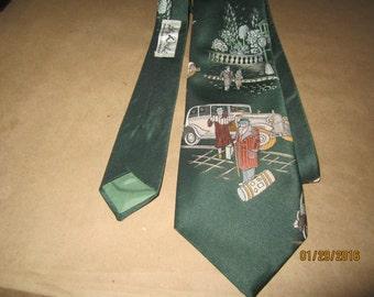 Classic Lilly Dache Tie